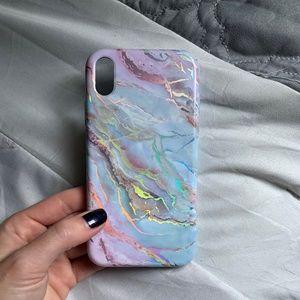 Velvet Caviar Holo Moonstone Phone Case iPhone XR